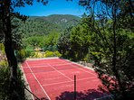 Tennis with a View and Privacy