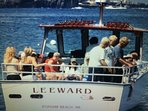 Enjoy a local charter for fishing or sightseeing