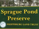 One of Phippsburg's popular nature trails