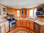 Hereford Cabin 693 - Fully equipped kitchen