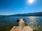 Hereford Cabin 693 - Dock on lake