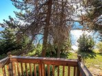 Hereford Cabin 693 - Balcony with a lake view