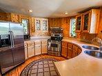 Hereford Cabin 693 - Kitchen appliances