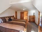 Hereford Cabin 693 - Master bedroom King bed