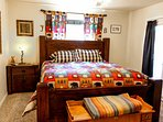 Cozy Mountain Home - Master Bedroom King Bed