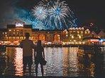 Disney Boardwalk Fireworks