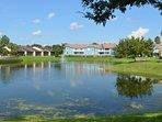 Take a walk by our lake
