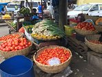 Market Day with fresh produce