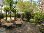 Guests are welcome to relax & bask in the sun in the cottage's park-like, 1/2 acre of gardens.