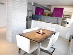 Designed kitchen fully equipped