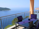 postcard-worthy Panoramic views of the Adriatic Sea, Lokrum island, and Old Town.