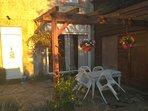 Courtyard garden perfect for BBQing