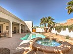 This 4-BR, 4-BA vacation rental home promises a revitalizing retreat!