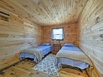 The kids are sure to sleep soundly in the 2 twin beds!