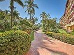 Enjoy scenic strolls through this enchanting garden.