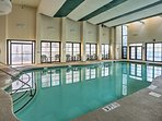 Your little ones will love the indoor pool.