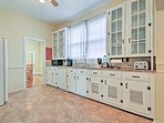 Make all of your favorite meals in the fully equipped kitchen.