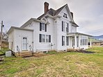 The home is ideally located in downtown Elkton.