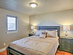 Each bedroom boasts a cloud-like queen-sized bed!