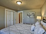 Find ample closet space in each bedroom!