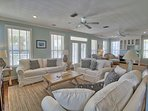 Living Room Towards Sofas