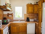 Provençal Style Kitchen with French Oak Cabinets