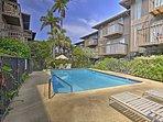 The vacation rental condo is located in the Malia Kai condo complex.