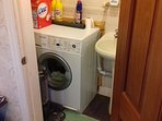 Automatic washing machine.