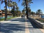 San Pedro paseo / promenade (5 min drive)