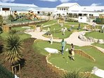 Crazy golf at Trecco bay all just a walk away from the house