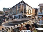 Cardiff Bay , just a 20 minute car journey away , to and have a nice meal overlooking the boats