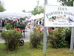 Bar Harbors farmers market is just one mile away along with downtown Bar Harbor.