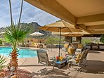 Experience the southwest at this 1-bedroom, 1-bathroom vacation rental casita.