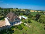 6 bedroom Villa in Fourcès, Occitania, France : ref 5604585