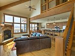 Rest easy inside 2,300 square feet of living space.