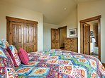 Each bedroom promises a restful night before another busy day!