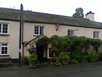 Lydford Castle Inn, 2 mile, good food & local ale next door to the Castle