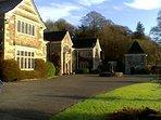 Lewtrenchard Manor, Jacobean Monor Hotel,Restaurant,Bar & Gardens, 5 mins away 5*