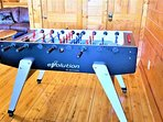 Brand New Kids Friendly Retractable Foosball Table.