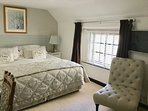 Master Bedroom with Freeview TV