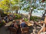 Beach Bar 'Strait on the beach' 50m walk from the house.                     ...