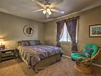 2 bedrooms are available in the home.