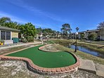 Play some mini golf during your stay!