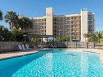 Take a dip in the lavish community pool.