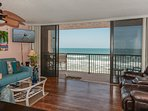 Take in the oceanfront view.
