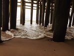 Under the Boardwalk at Seaside Heights