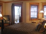 A Guest room, with a view over The Sound
