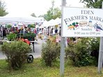 Bar Harbors farmers market is only 1 mile from the Guest House.