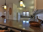 Kitchen offers all the amenities!