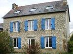 Classic stonebuilt Breton house